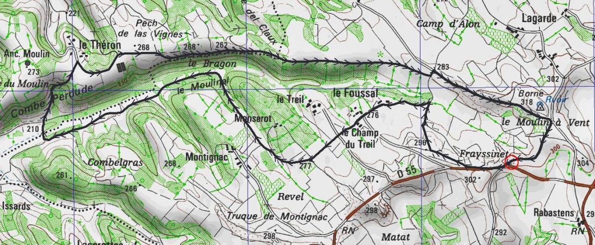 Chemins anciens de pern 7400 m