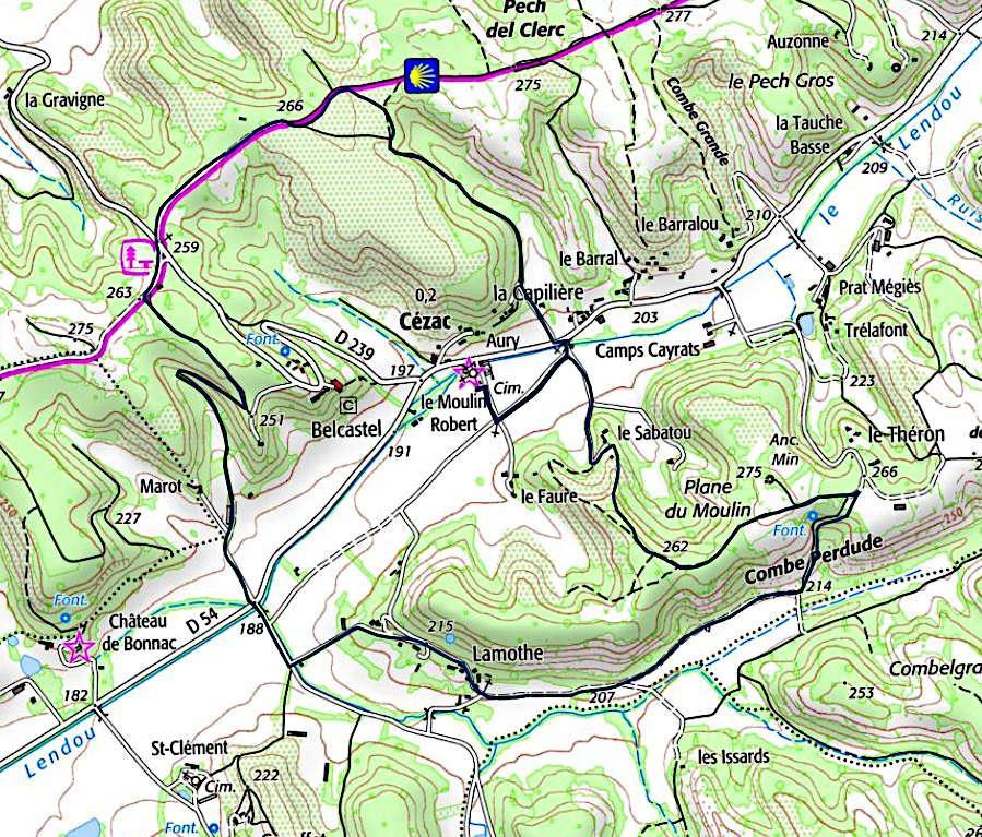 Circuit cezac 8300 m
