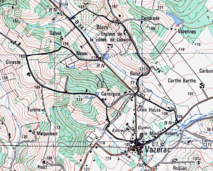 Vazerac 6900 m